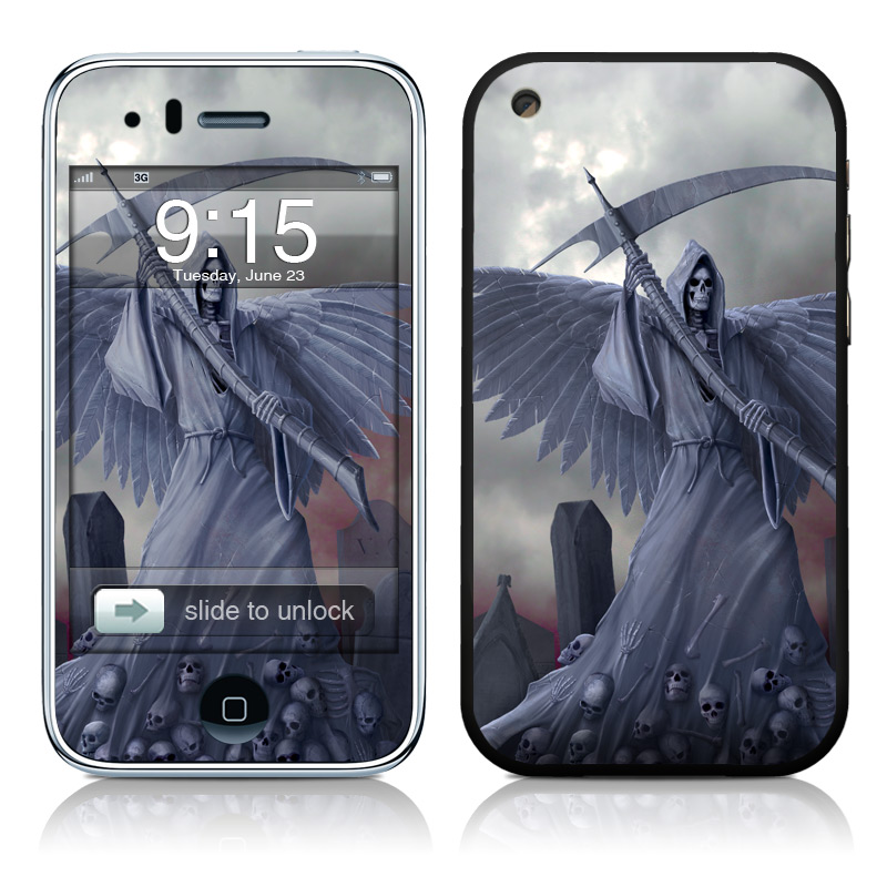 Death on Hold iPhone 3GS Skin