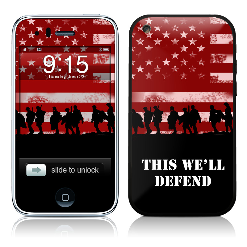 Defend  iPhone 3GS Skin