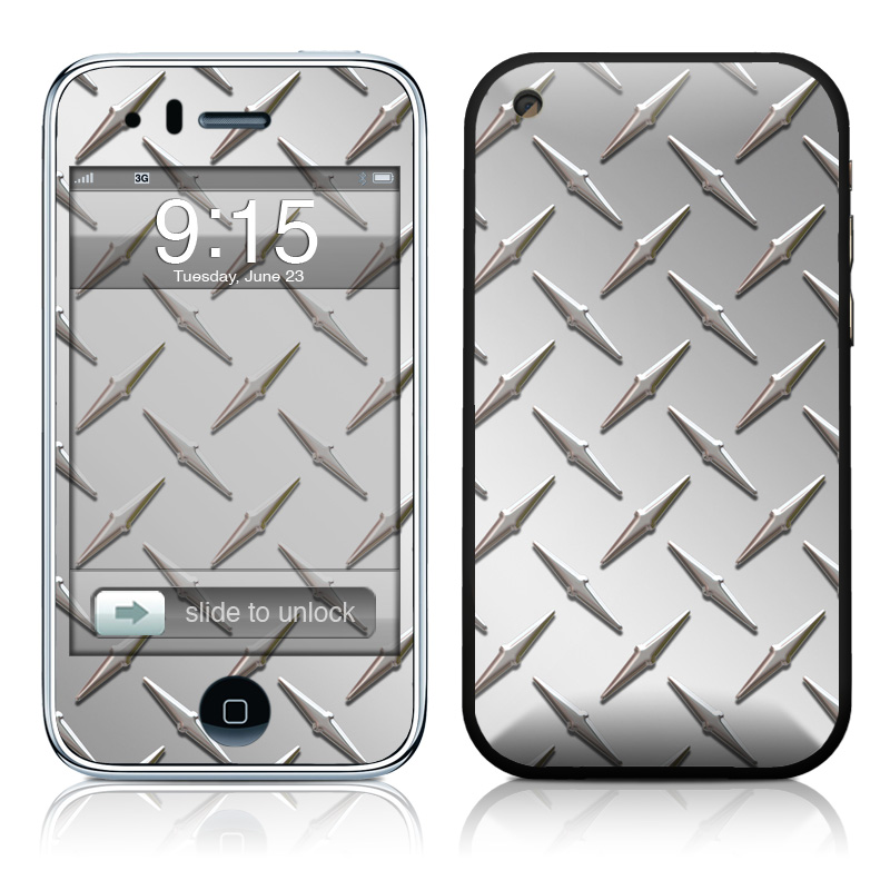 Diamond Plate iPhone 3GS Skin