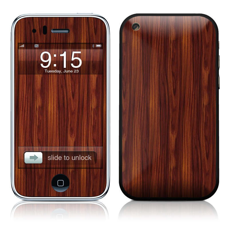 Dark Rosewood iPhone 3GS Skin