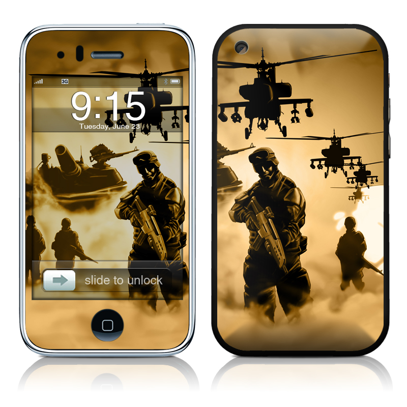Desert Ops iPhone 3GS Skin