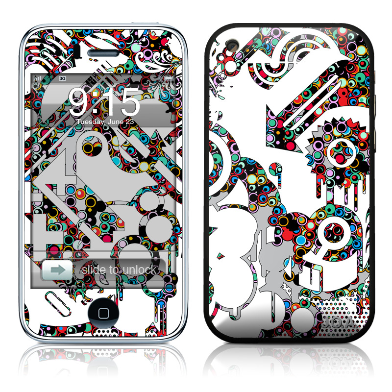 Dots iPhone 3GS Skin