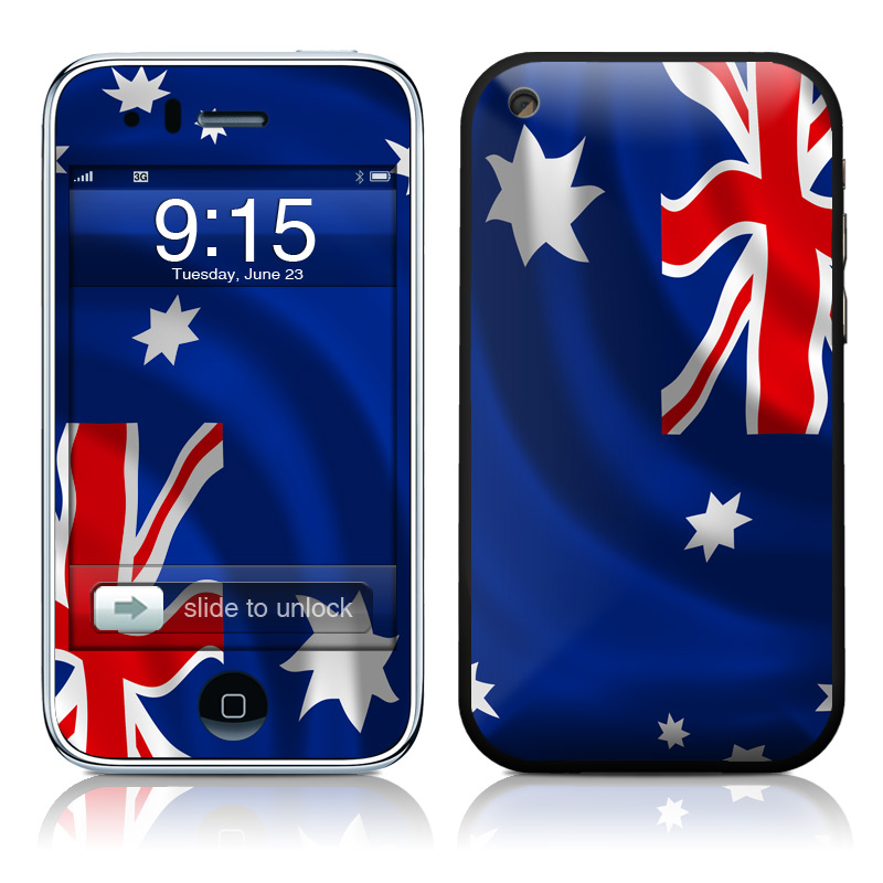 Down Under iPhone 3GS Skin
