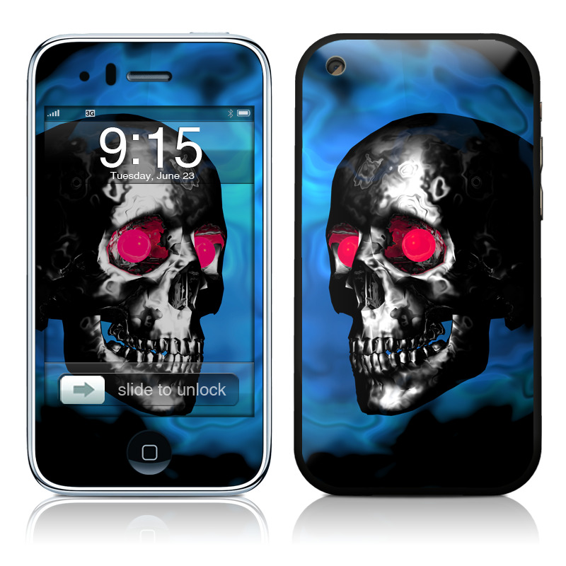Demon Skull iPhone 3GS Skin