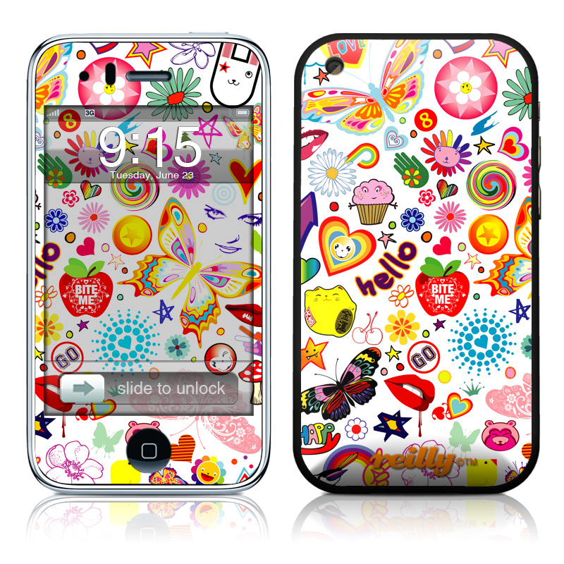 Eye Candy iPhone 3GS Skin