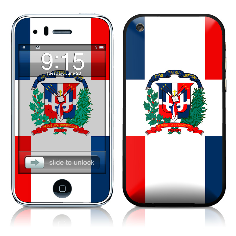 Dominican Republic Flag Iphone 3gs Skin Istyles