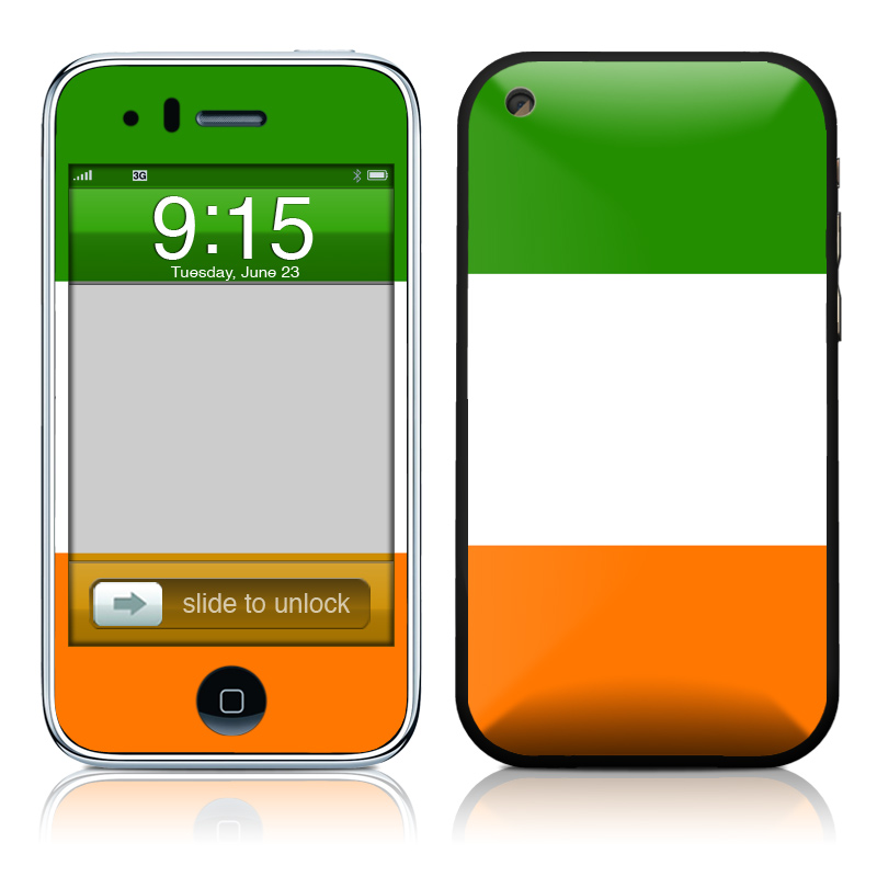 Irish Flag iPhone 3GS Skin