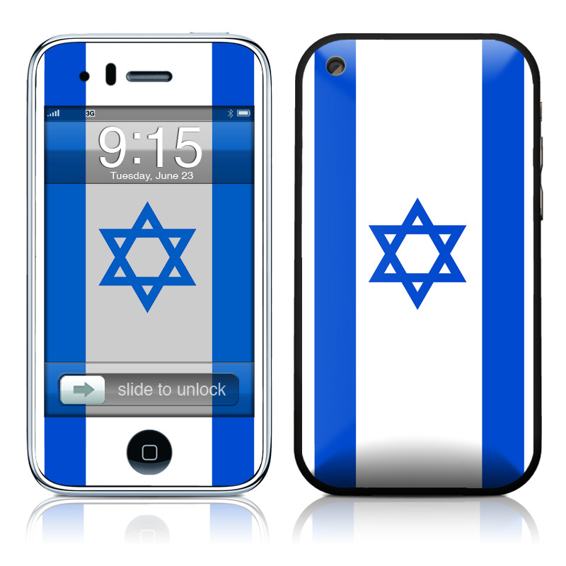 Israel Flag iPhone 3GS Skin