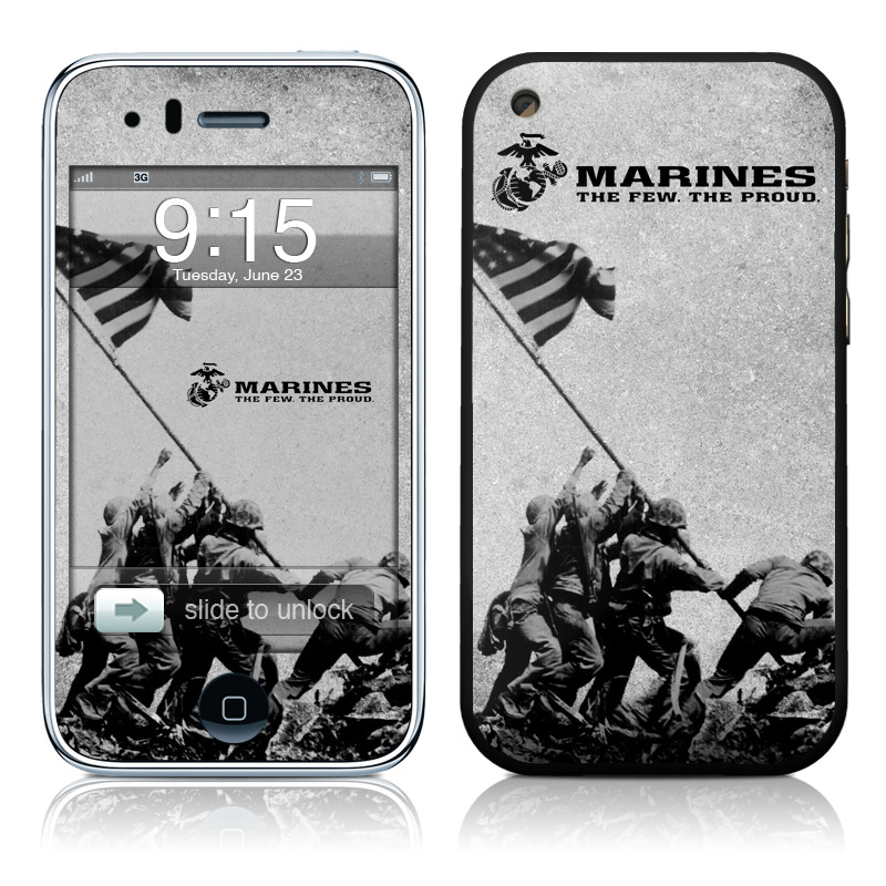Flag Raise iPhone 3GS Skin