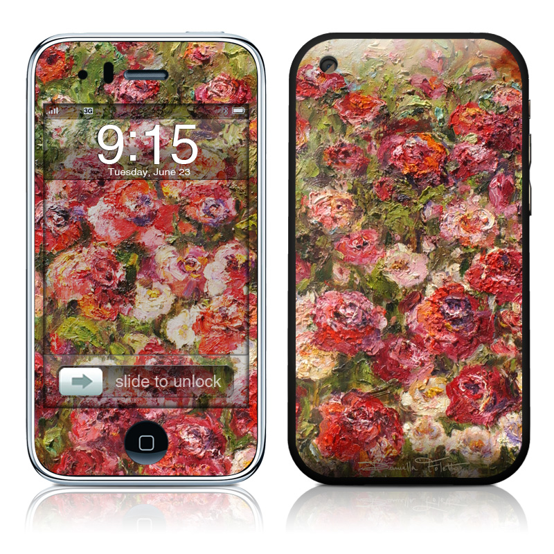 Fleurs Sauvages iPhone 3GS Skin