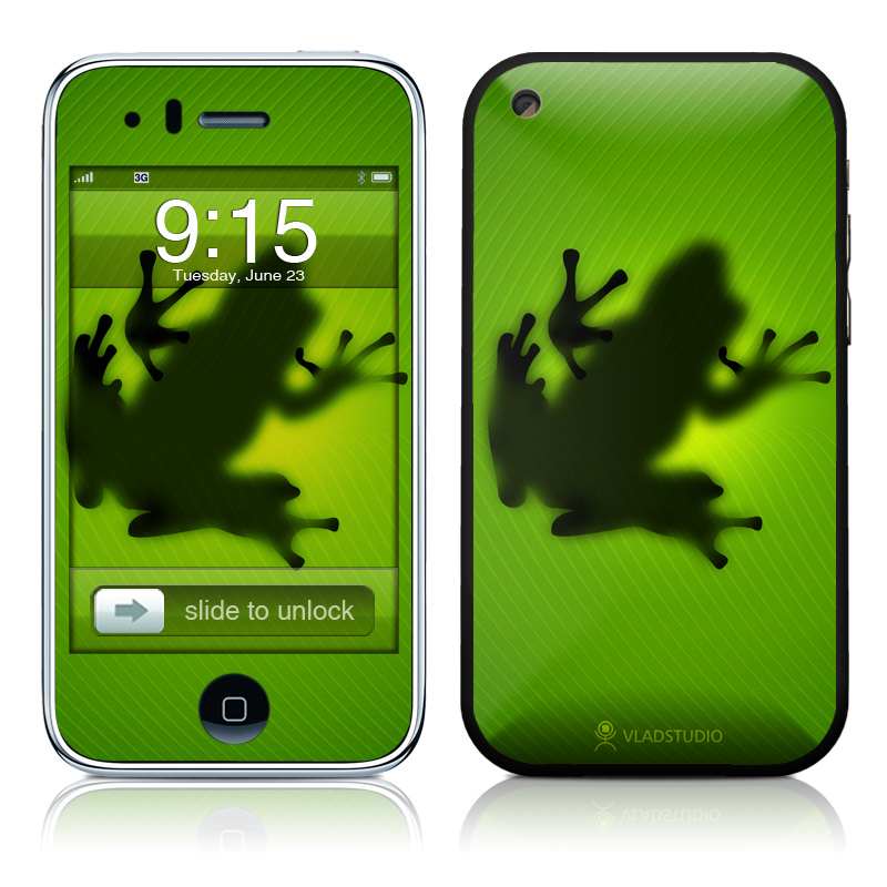 Frog iPhone 3GS Skin
