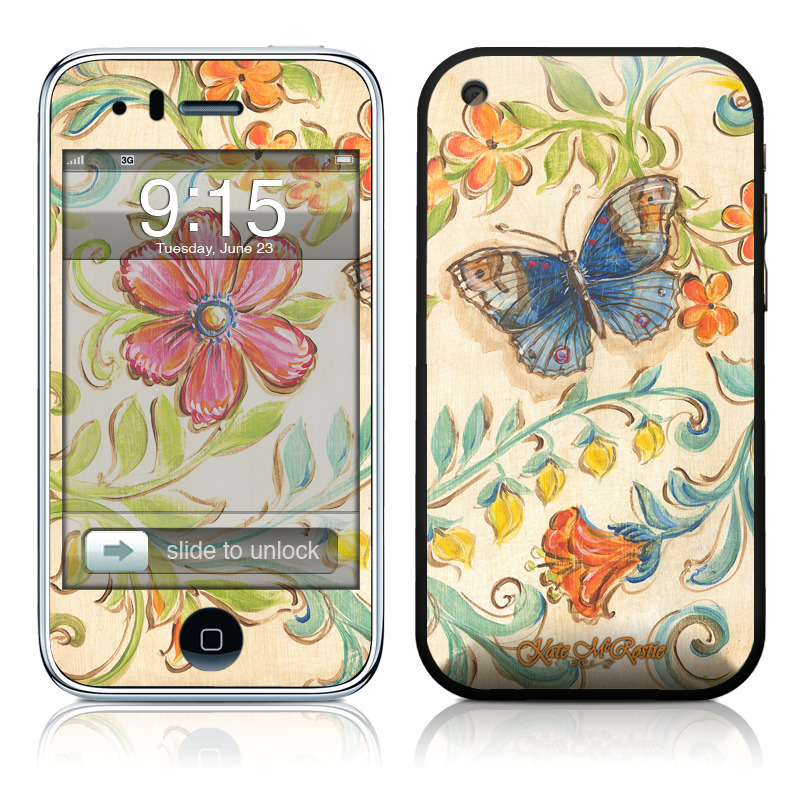Garden Scroll iPhone 3GS Skin
