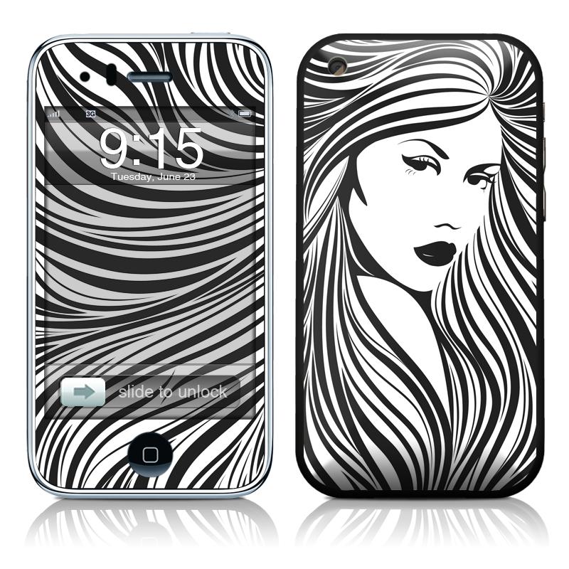 Girl iPhone 3GS Skin