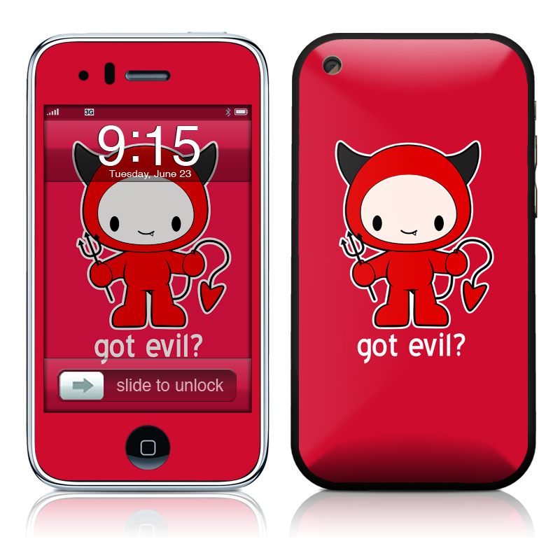 Got Evil iPhone 3GS Skin