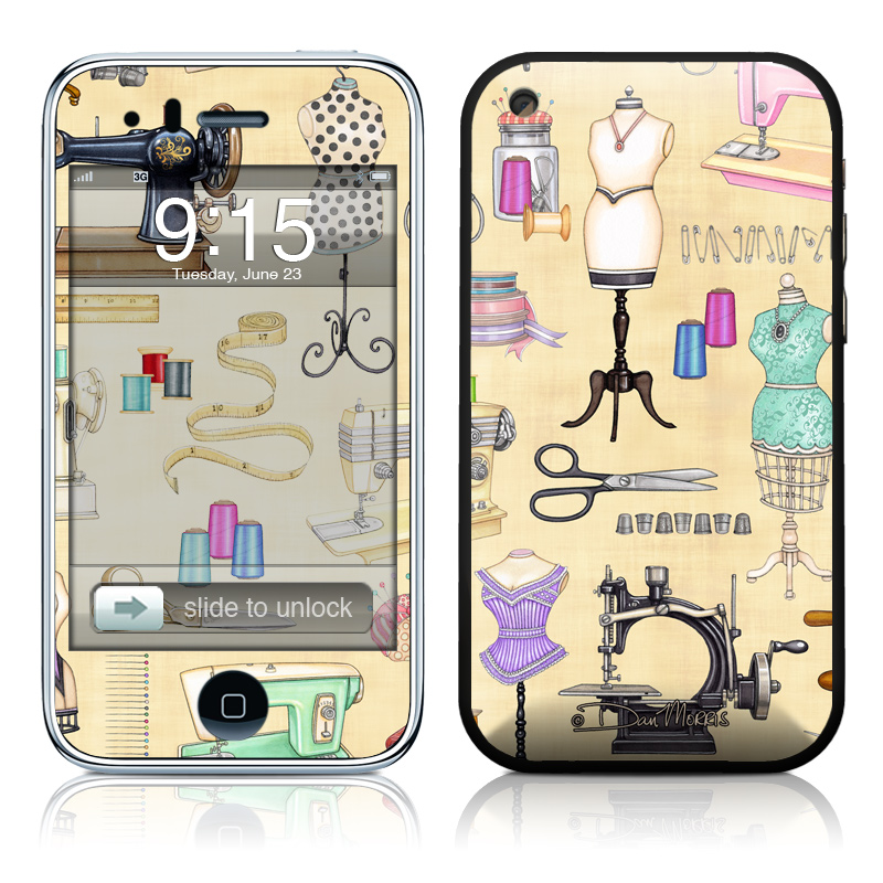 Haberdashery iPhone 3GS Skin