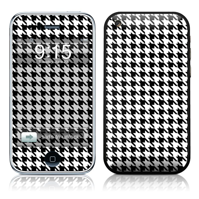 Houndstooth iPhone 3GS Skin