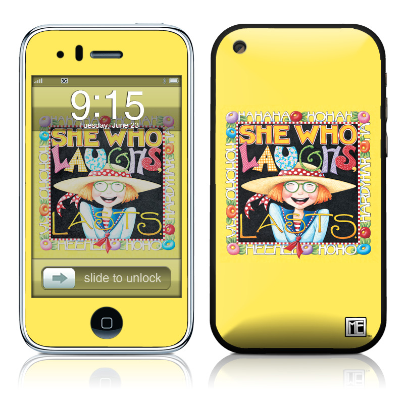 She Who Laughs iPhone 3GS Skin