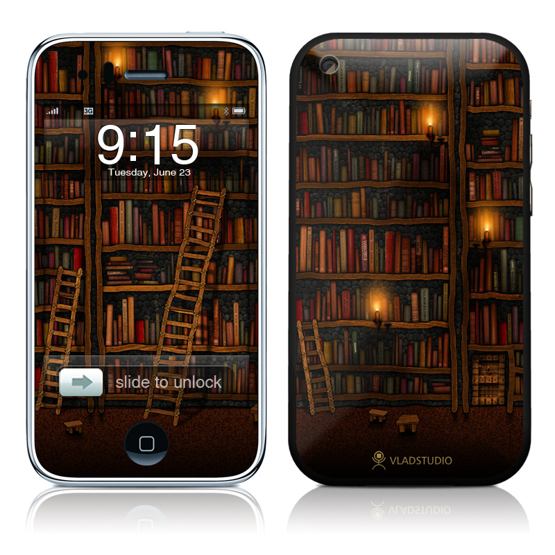 Library iPhone 3GS Skin