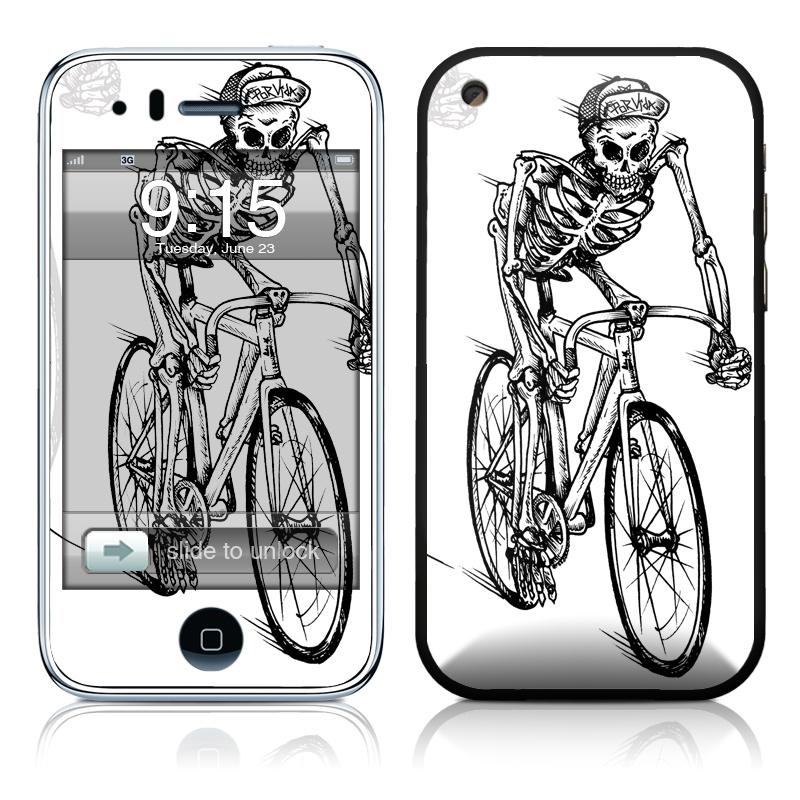 Lone Rider iPhone 3GS Skin