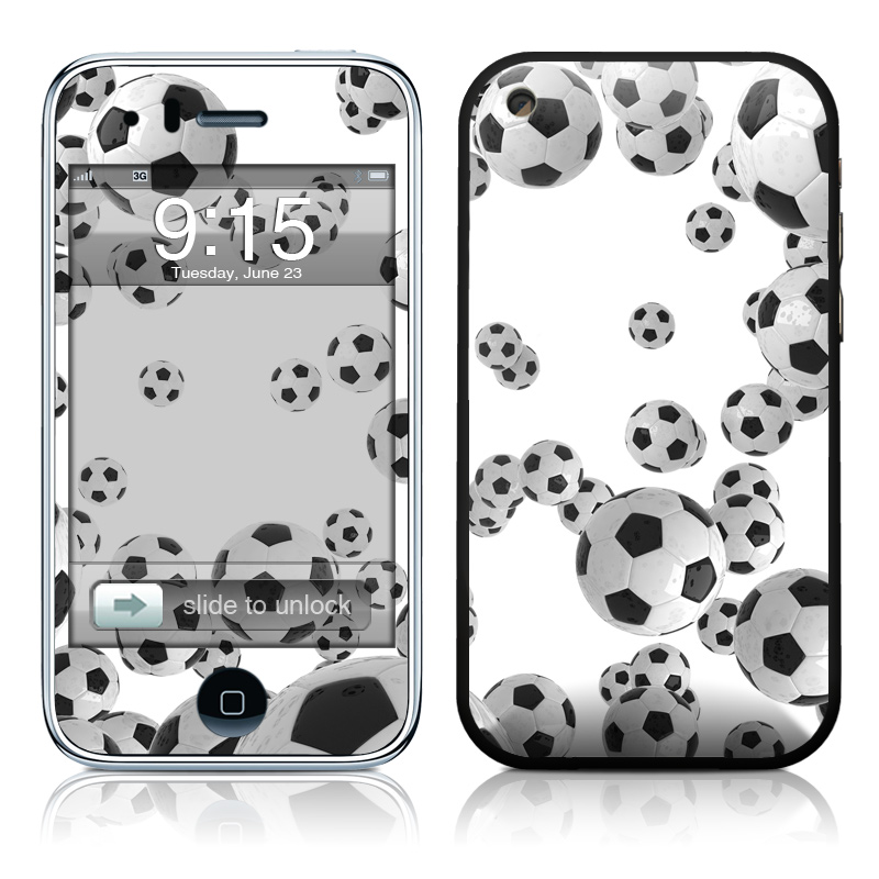 Lots of Soccer Balls iPhone 3GS Skin
