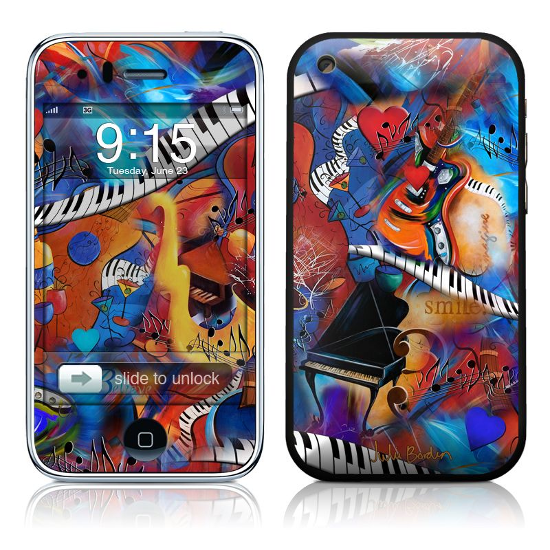 Music Madness iPhone 3GS Skin