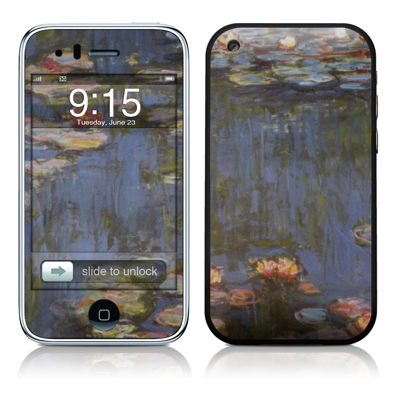 Monet - Waterlilies iPhone 3GS Skin