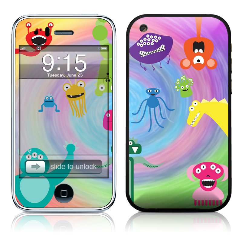 Monster Party iPhone 3GS or 3G Skin