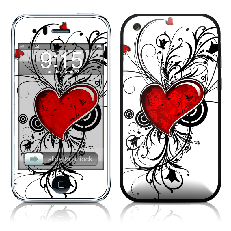 My Heart iPhone 3GS Skin