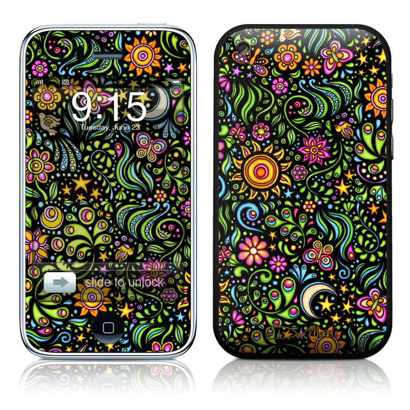 Nature Ditzy iPhone 3GS Skin