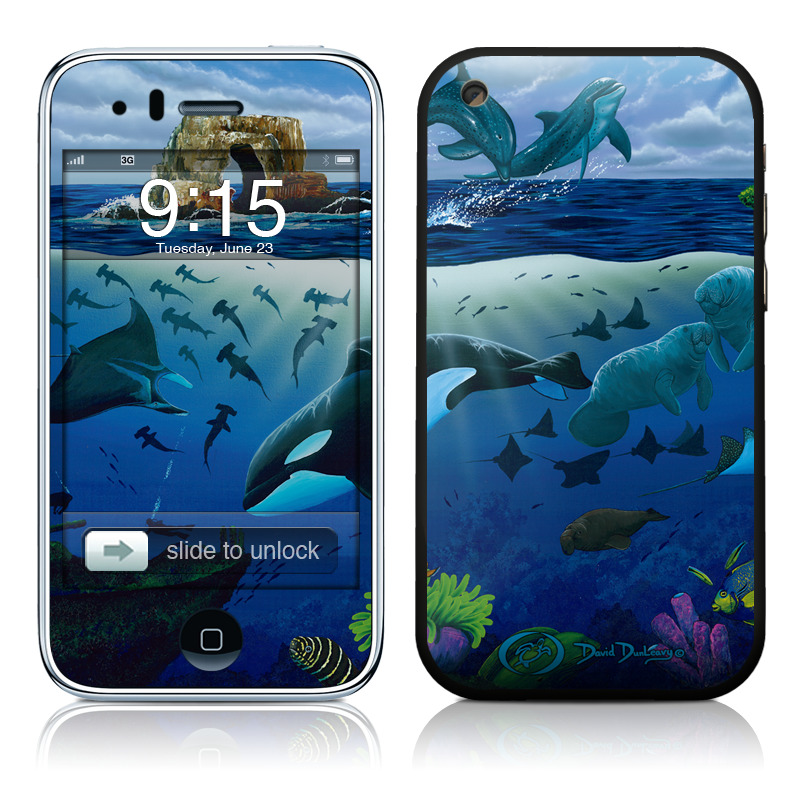Oceans For Youth iPhone 3GS Skin