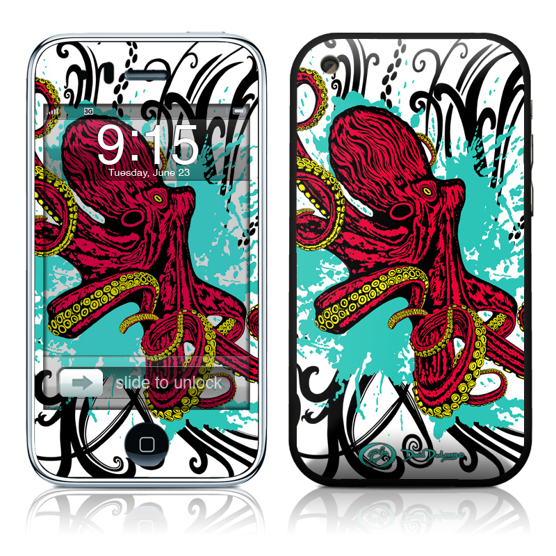 Octopus iPhone 3GS Skin