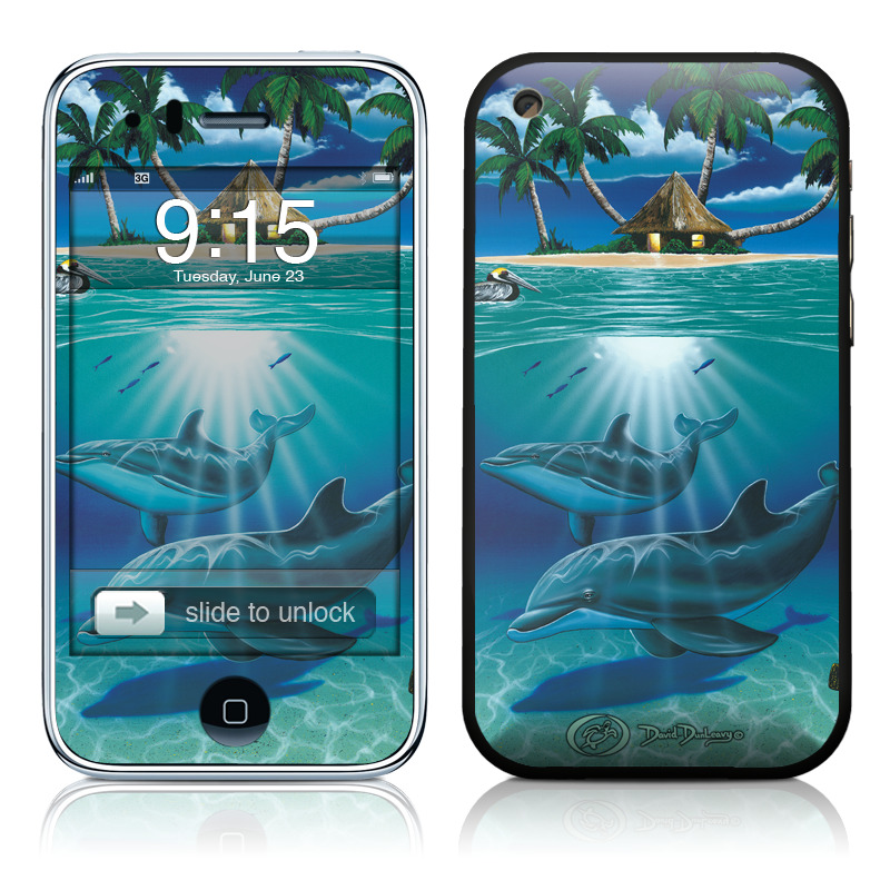 Ocean Serenity iPhone 3GS Skin