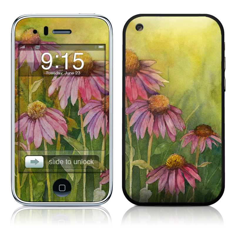 Prairie Coneflower iPhone 3GS Skin