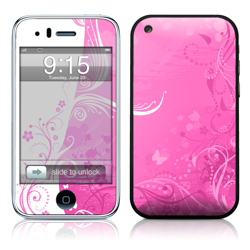 Pink Crush iPhone 3GS Skin