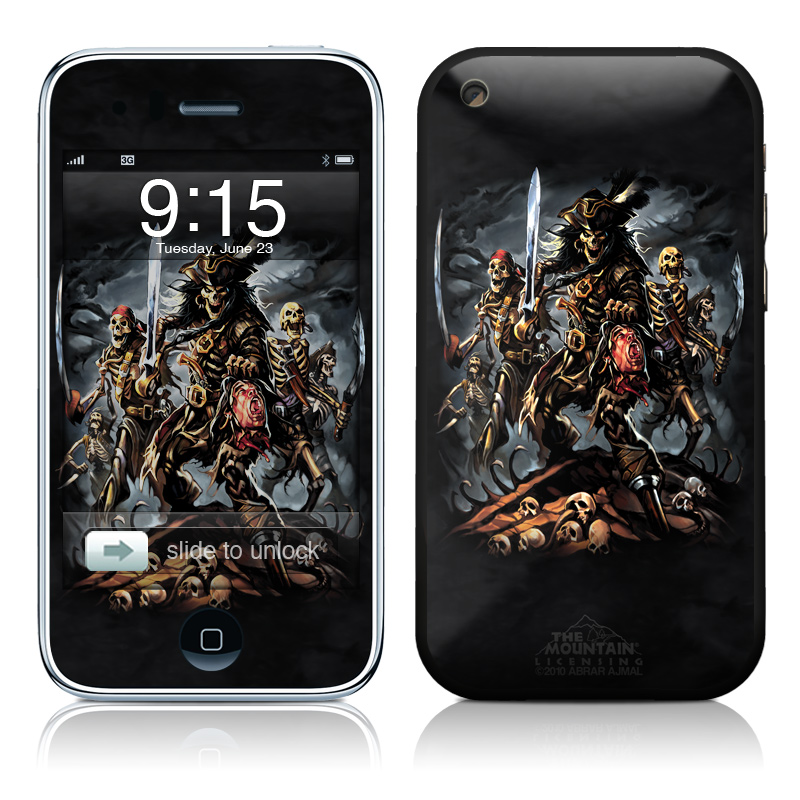 Pirates Curse iPhone 3GS Skin