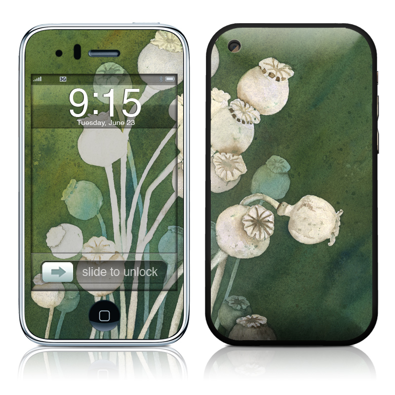 Poppy Pods iPhone 3GS Skin