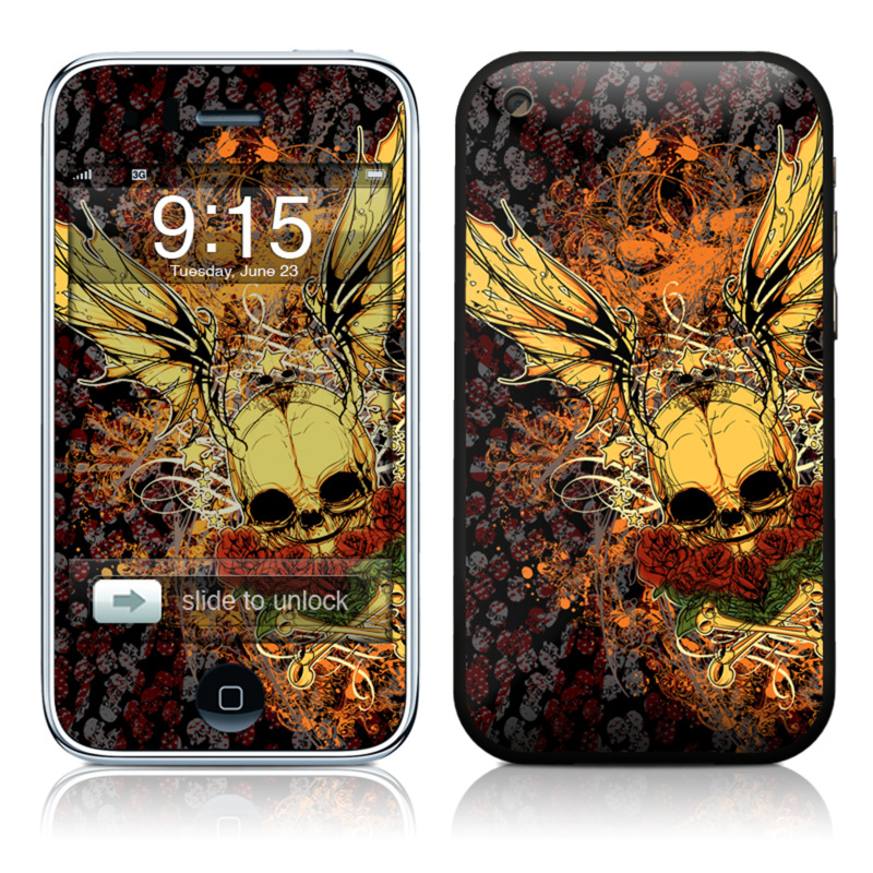Radiant Skull iPhone 3GS Skin