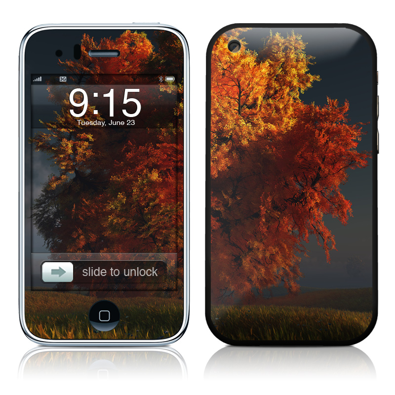 Red and Gold iPhone 3GS Skin
