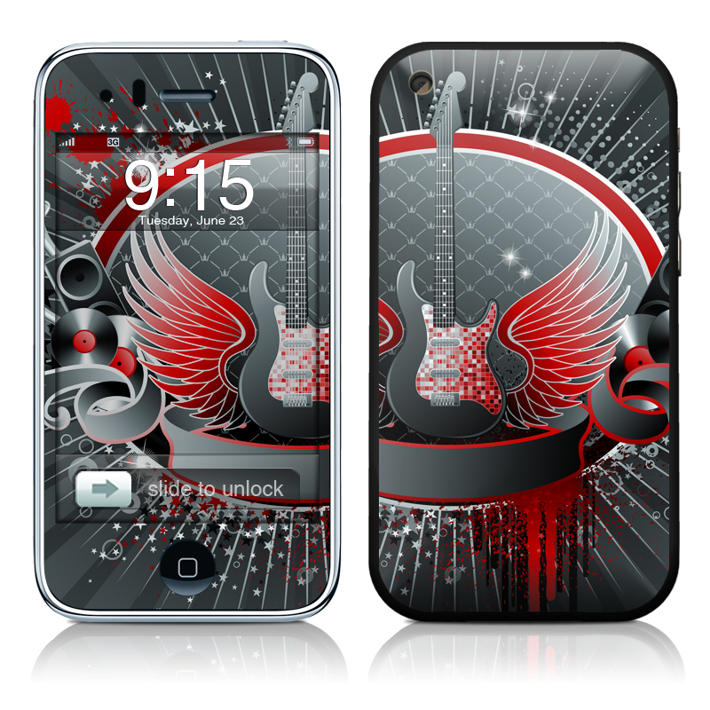 Rock Out iPhone 3GS Skin
