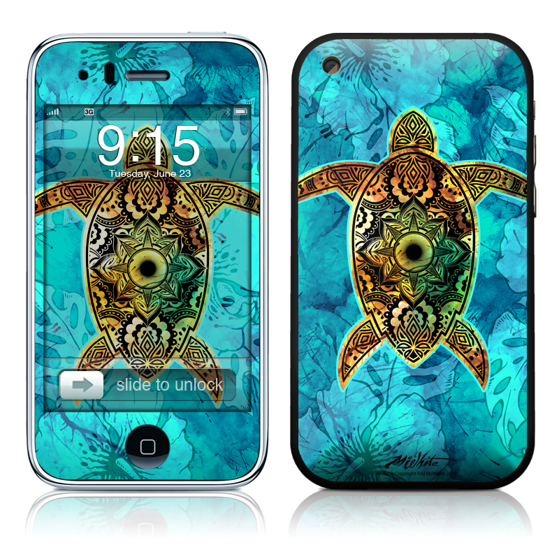 Sacred Honu iPhone 3GS Skin