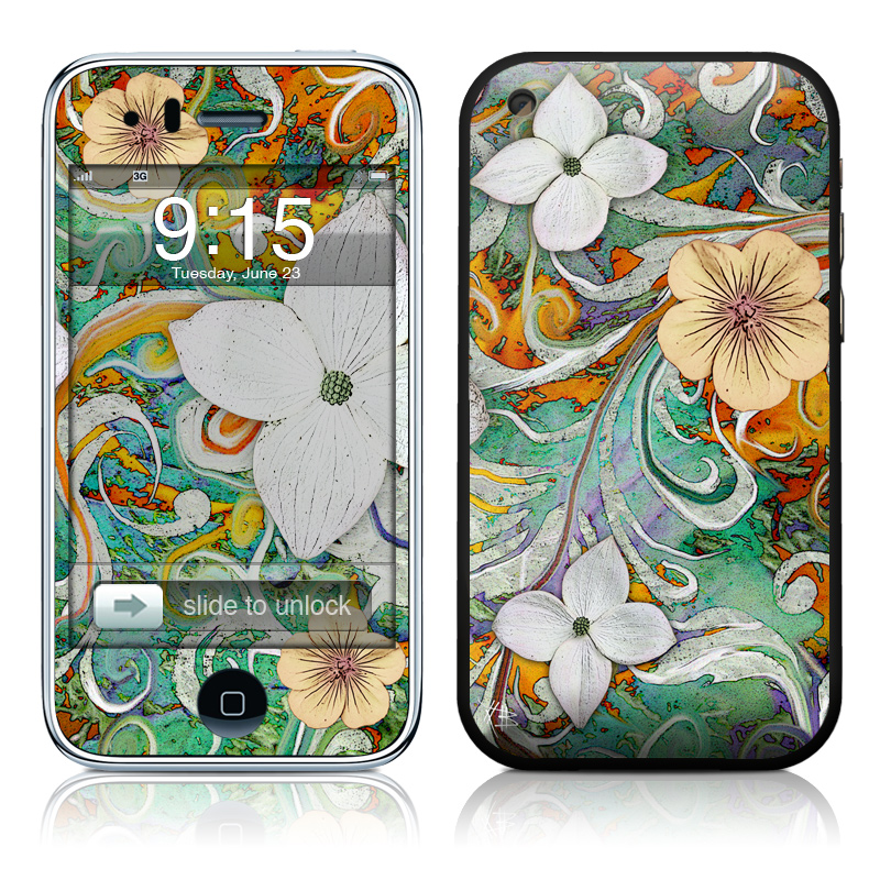 Sangria Flora iPhone 3GS Skin