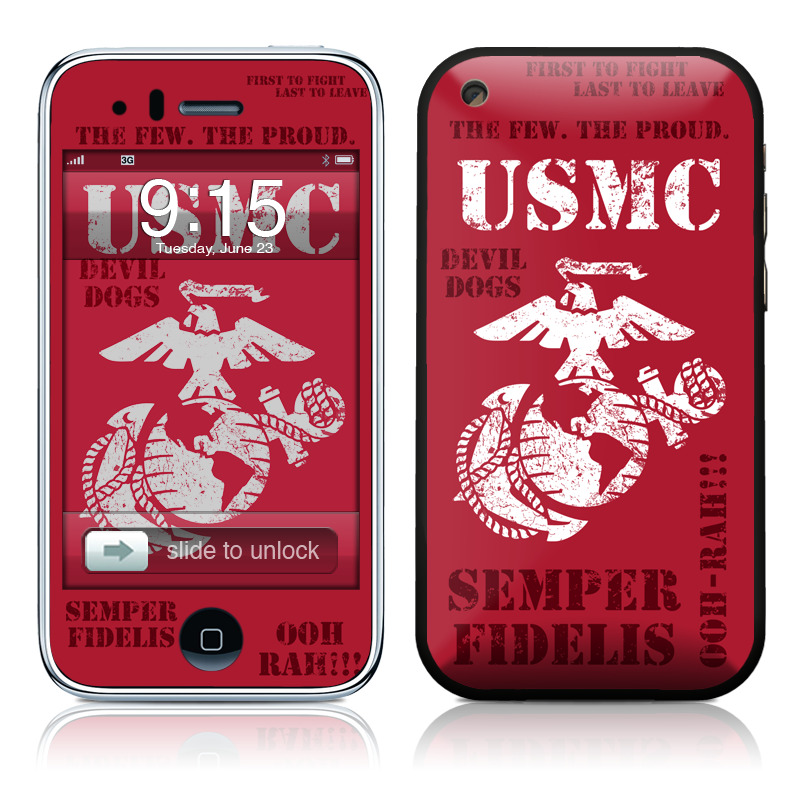 Semper Fi iPhone 3GS Skin