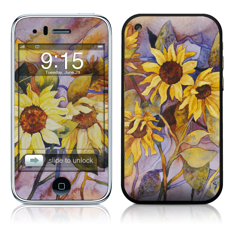 Sunflower iPhone 3GS Skin