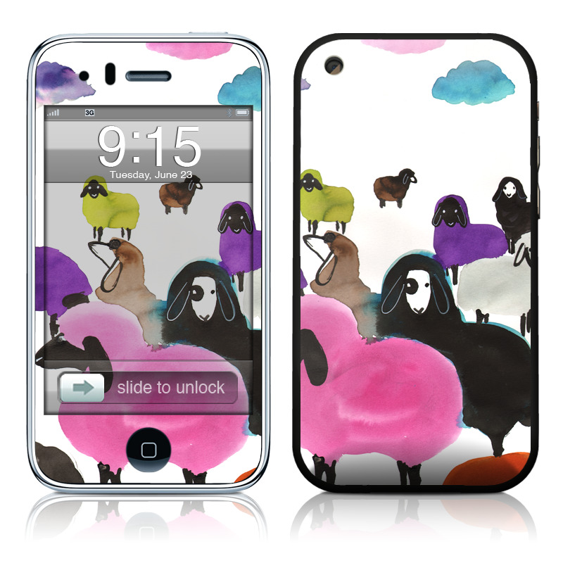 Sheeps iPhone 3GS Skin