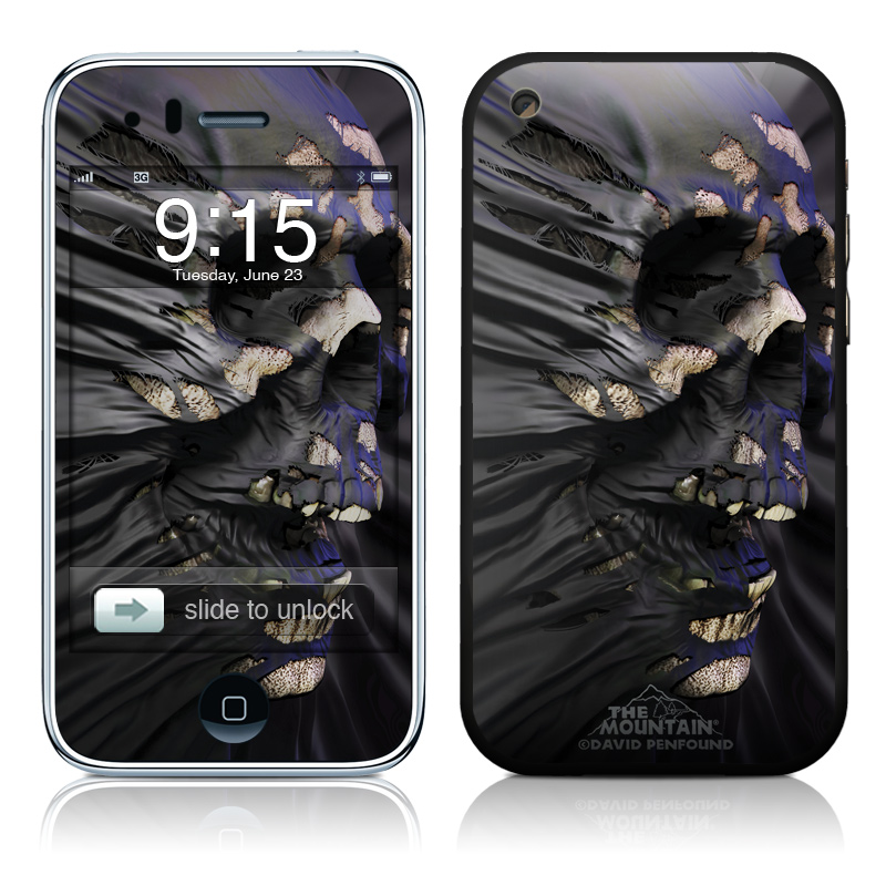 iPhone 3GS Skin design of Purple, Dress, Tree, Plant, Photography, Flower, Macro photography, Art with black, gray colors