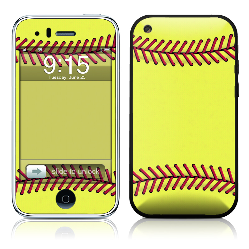 Softball iPhone 3GS Skin