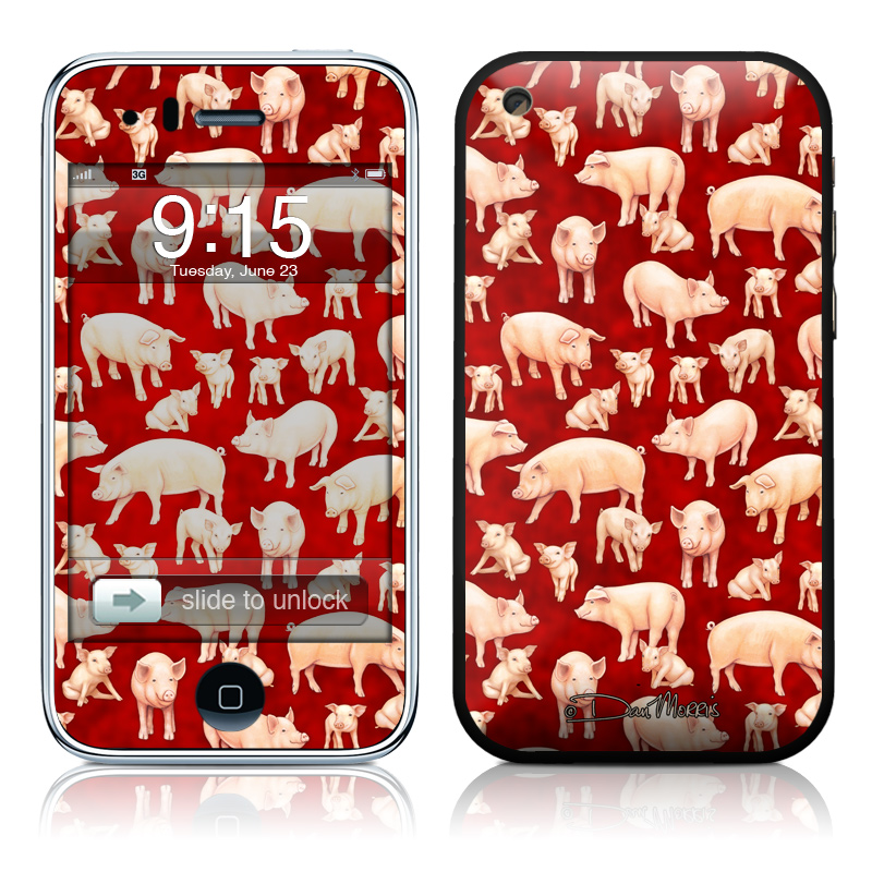Some Pig iPhone 3GS Skin