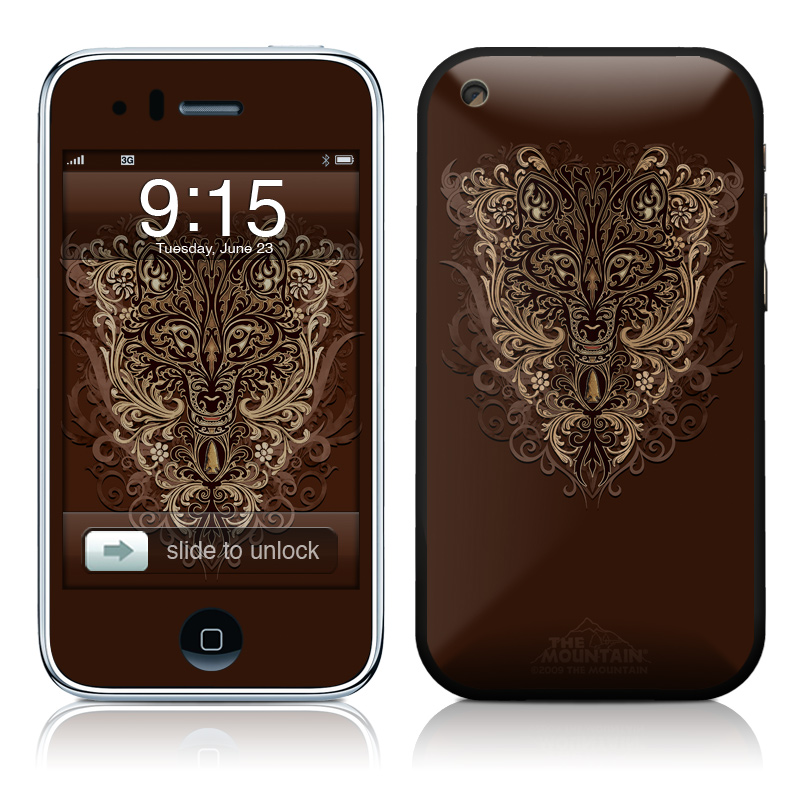 Spanish Wolf iPhone 3GS Skin