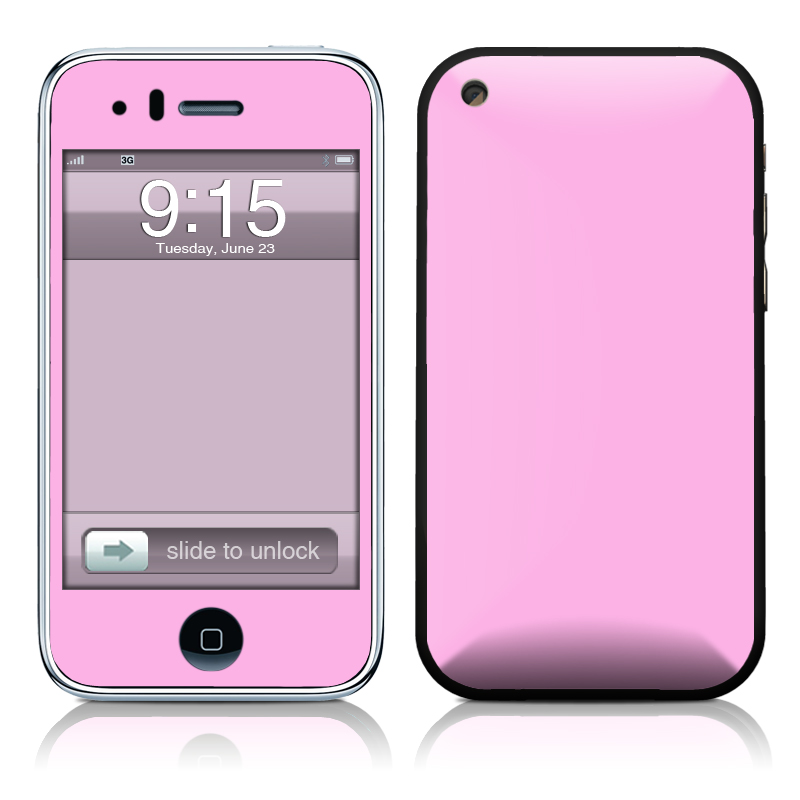 Solid State Pink iPhone 3GS Skin