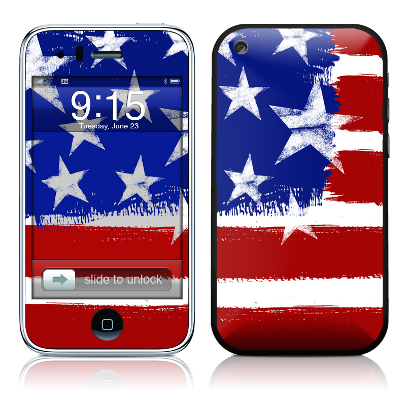 Stars + Stripes iPhone 3GS Skin